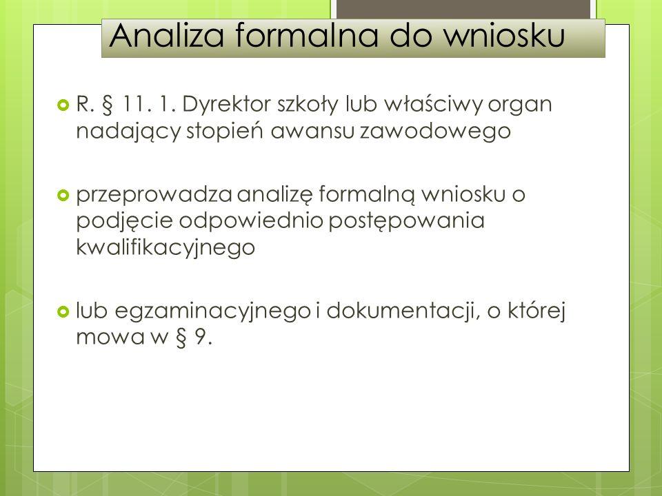 Analiza formalna do wniosku