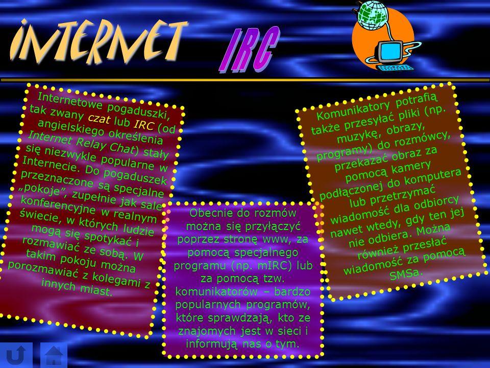 Internet I R C.