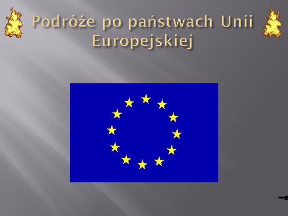 Podróże po państwach Unii Europejskiej