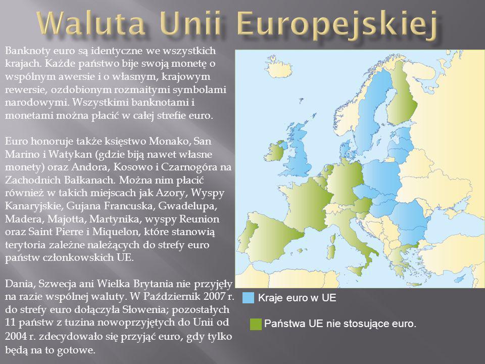 Waluta Unii Europejskiej