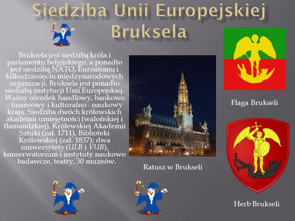 Siedziba Unii Europejskiej Bruksela