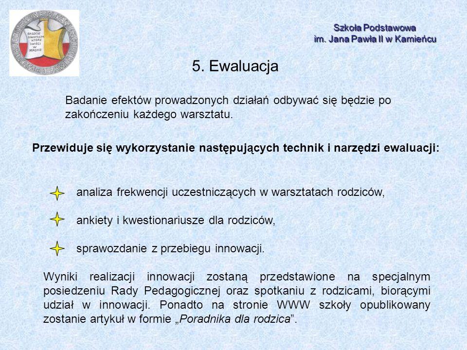 im. Jana Pawła II w Kamieńcu