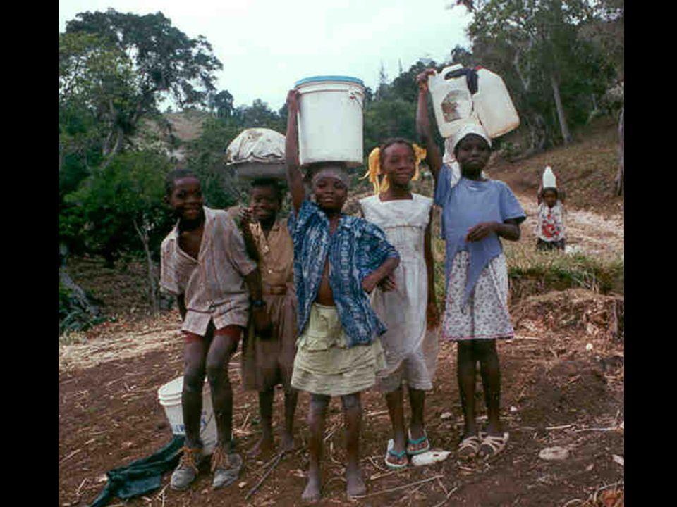 """Życie """"tam Jest to jeden z najuboższych krajów na Świecie (najbiedniejszy na półkuli zachodniej)."""