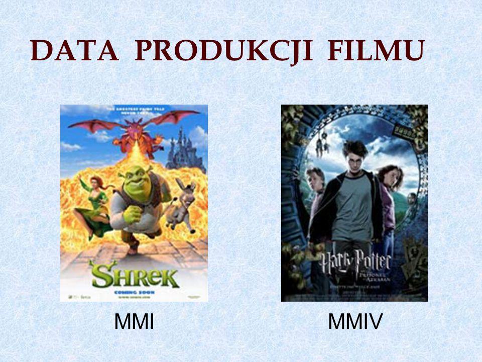 DATA PRODUKCJI FILMU MMI MMIV