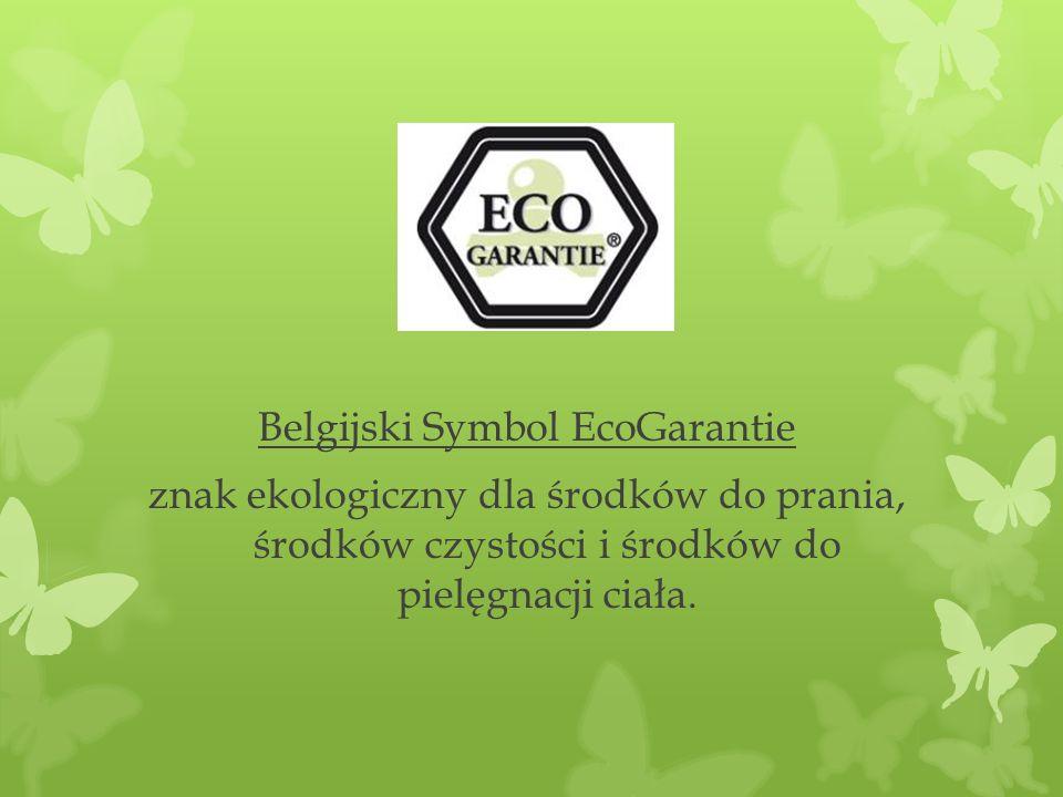 Belgijski Symbol EcoGarantie