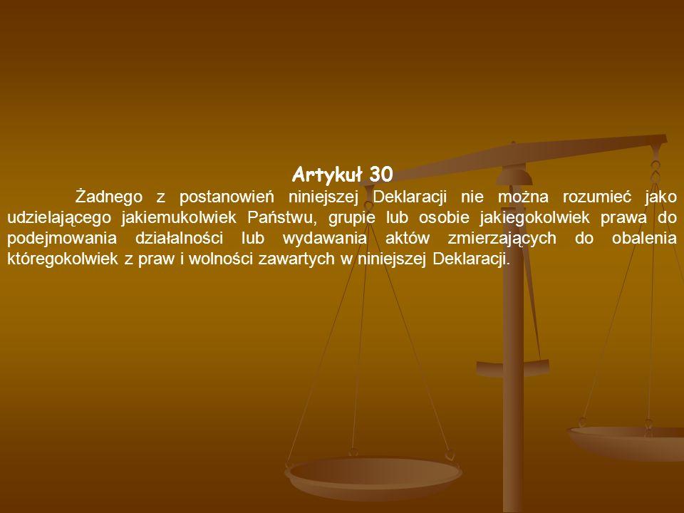 Artykuł 30
