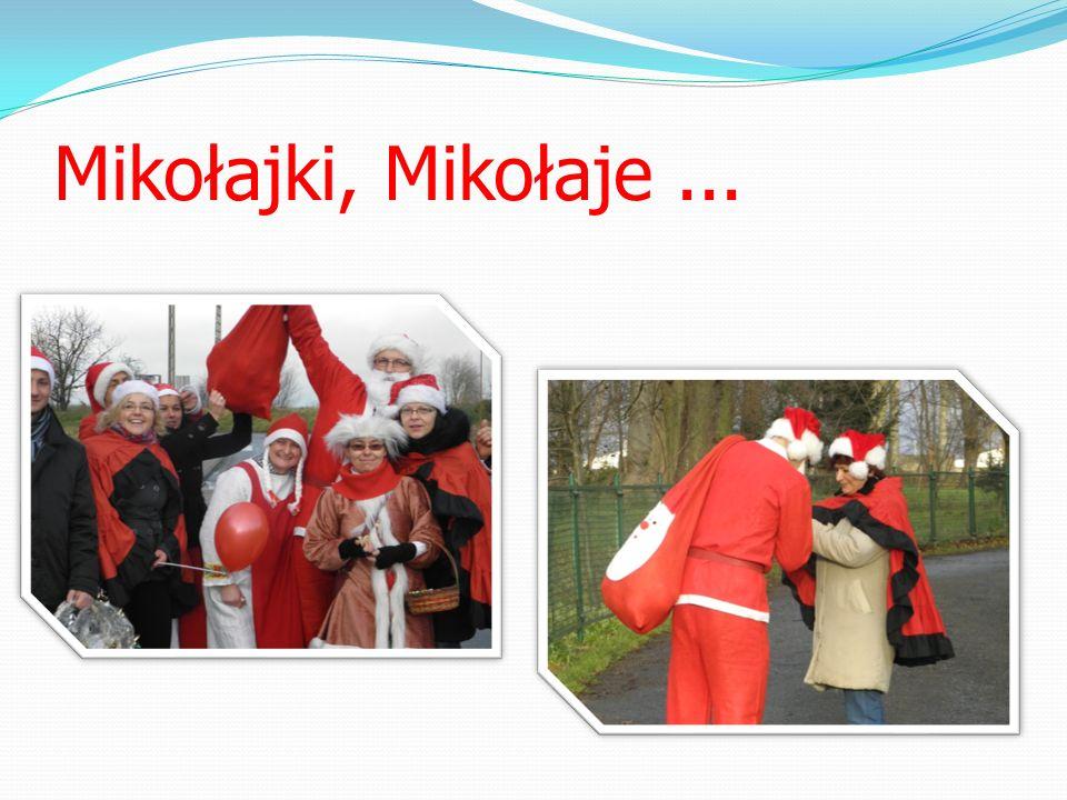 Mikołajki, Mikołaje ...