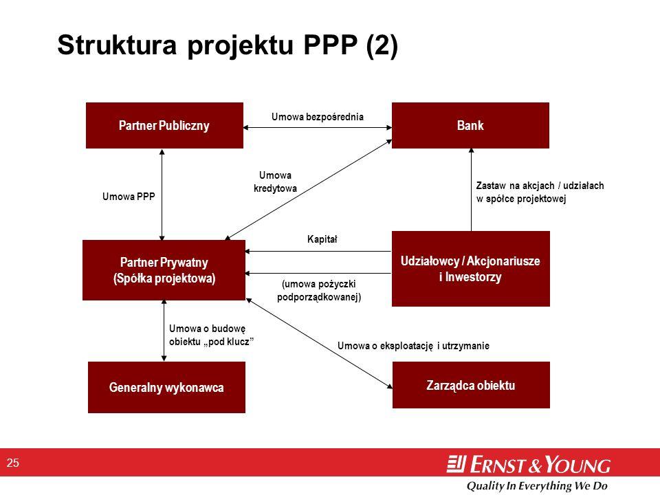 Struktura projektu PPP (2)