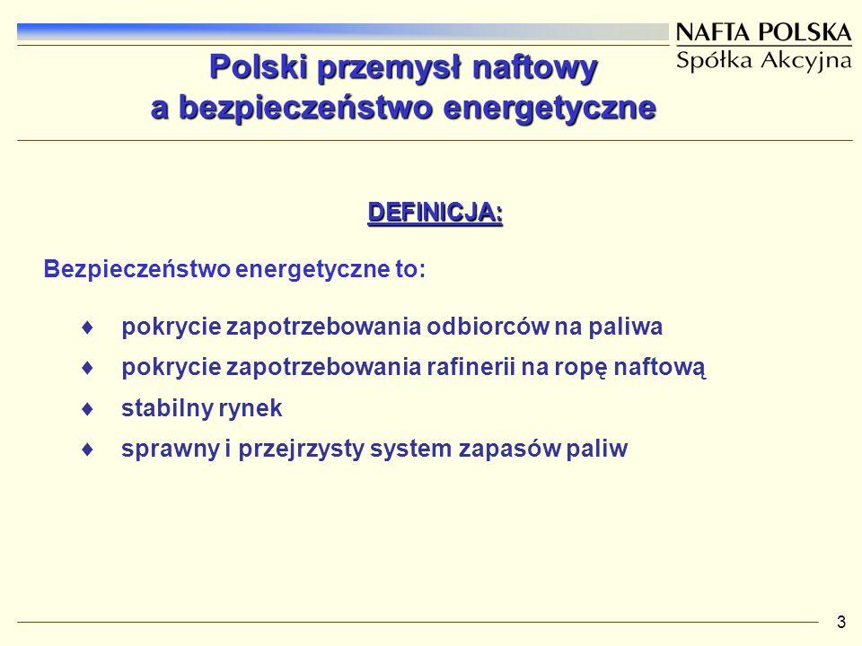 Polski przemysł naftowy a bezpieczeństwo energetyczne