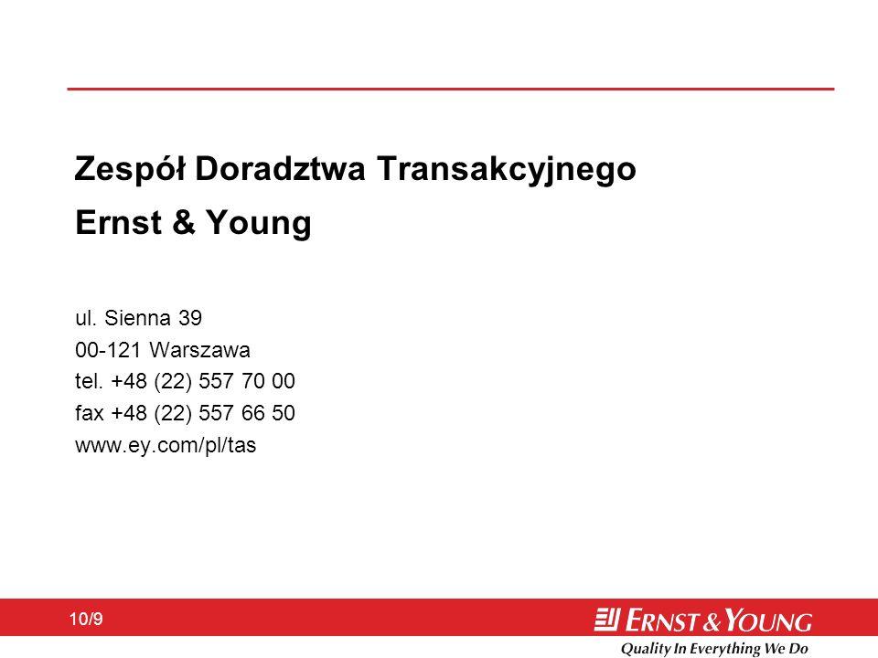 Zespół Doradztwa Transakcyjnego Ernst & Young