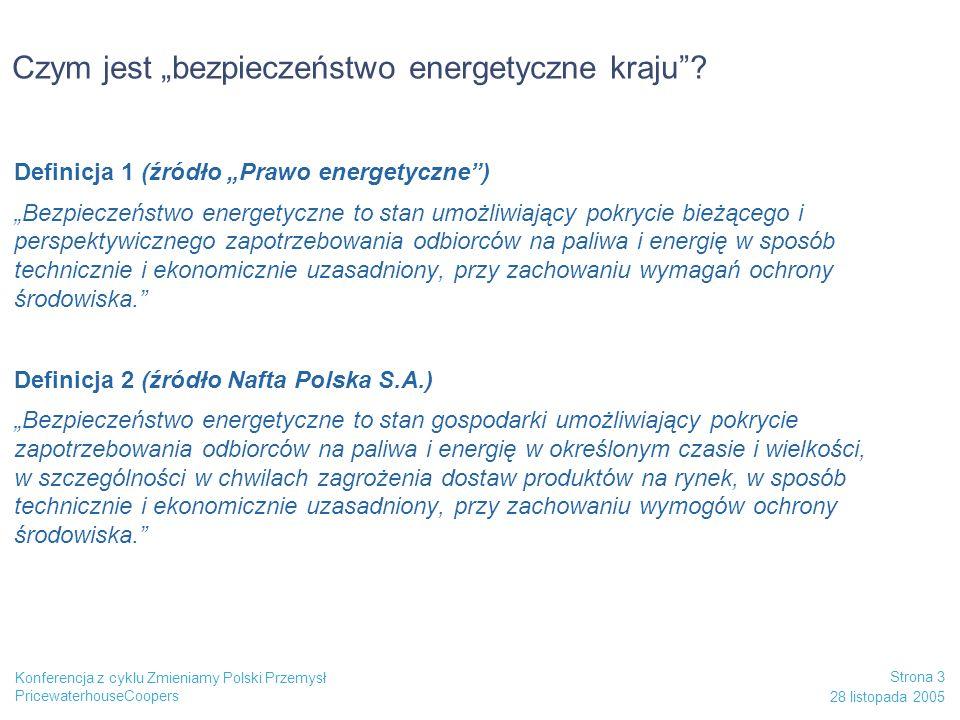 """Czym jest """"bezpieczeństwo energetyczne kraju"""