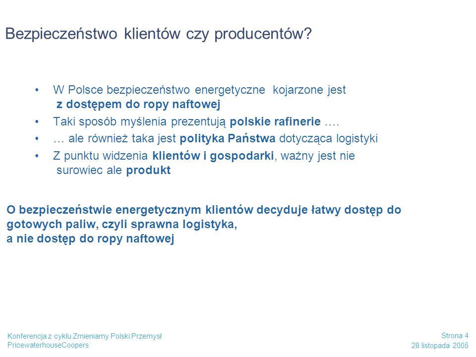 Bezpieczeństwo klientów czy producentów