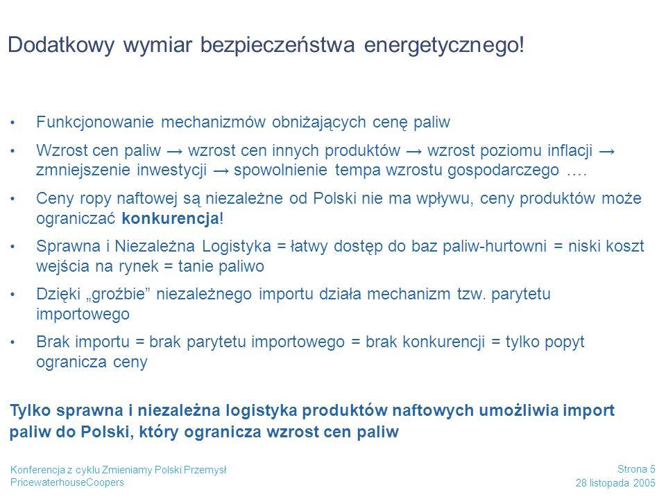 Dodatkowy wymiar bezpieczeństwa energetycznego!