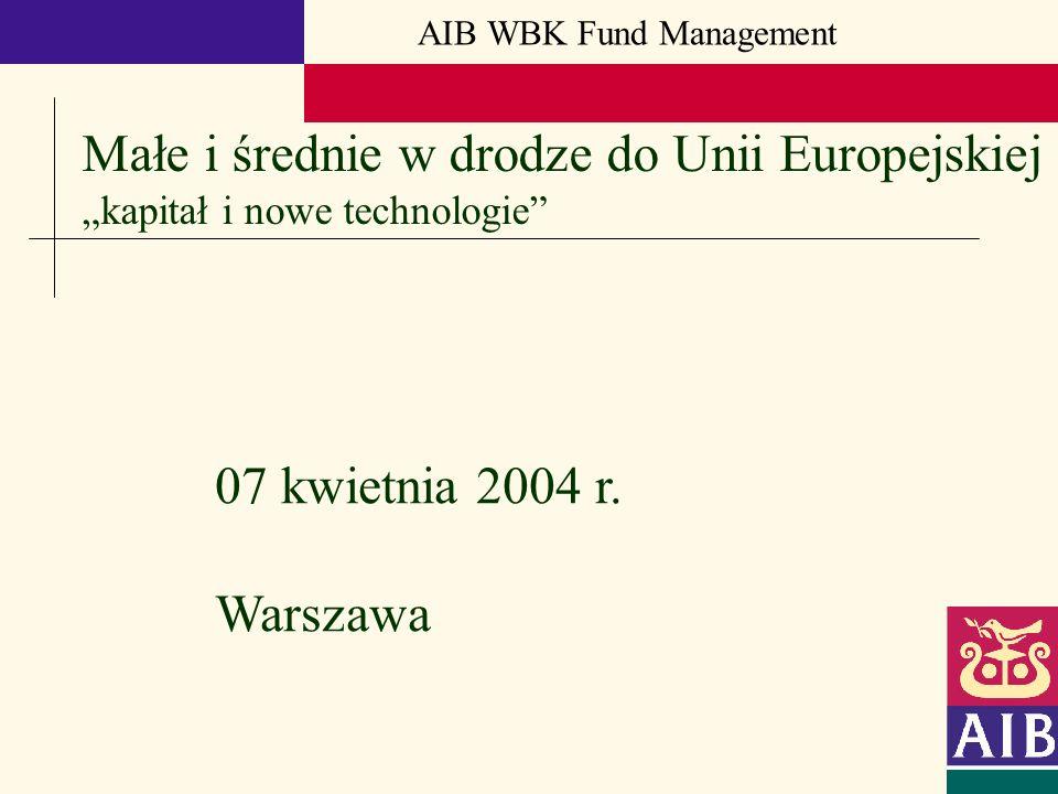 Małe i średnie w drodze do Unii Europejskiej