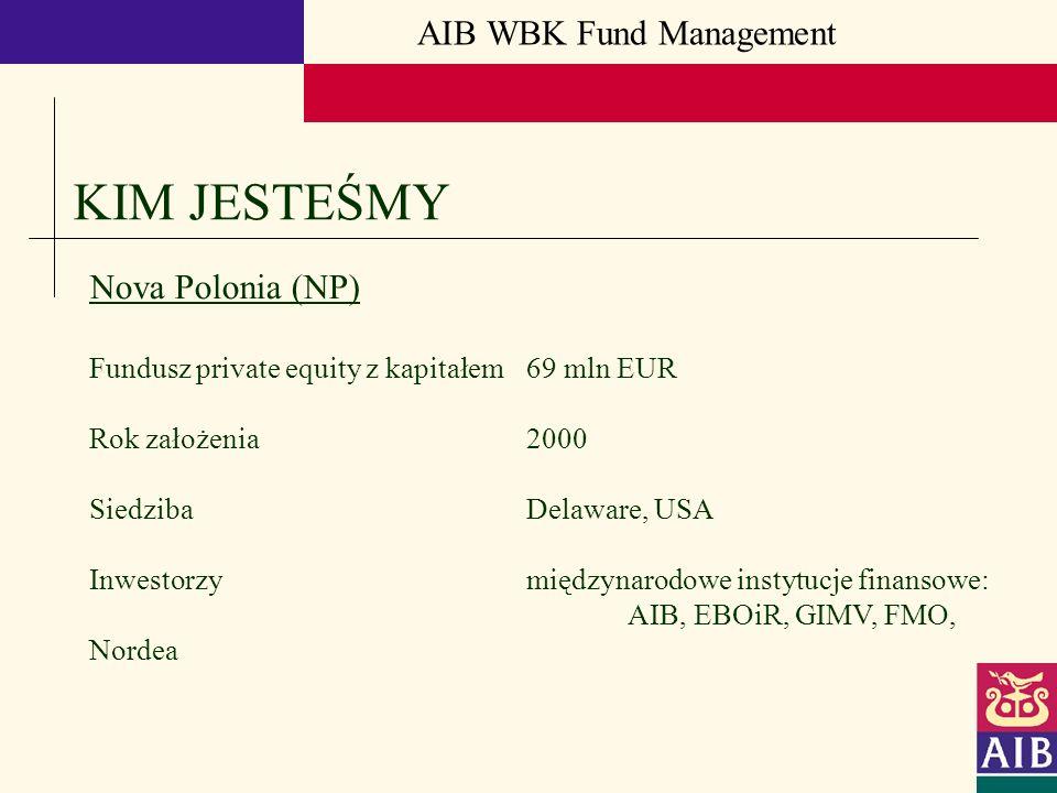 KIM JESTEŚMY AIB WBK Fund Management Nova Polonia (NP)