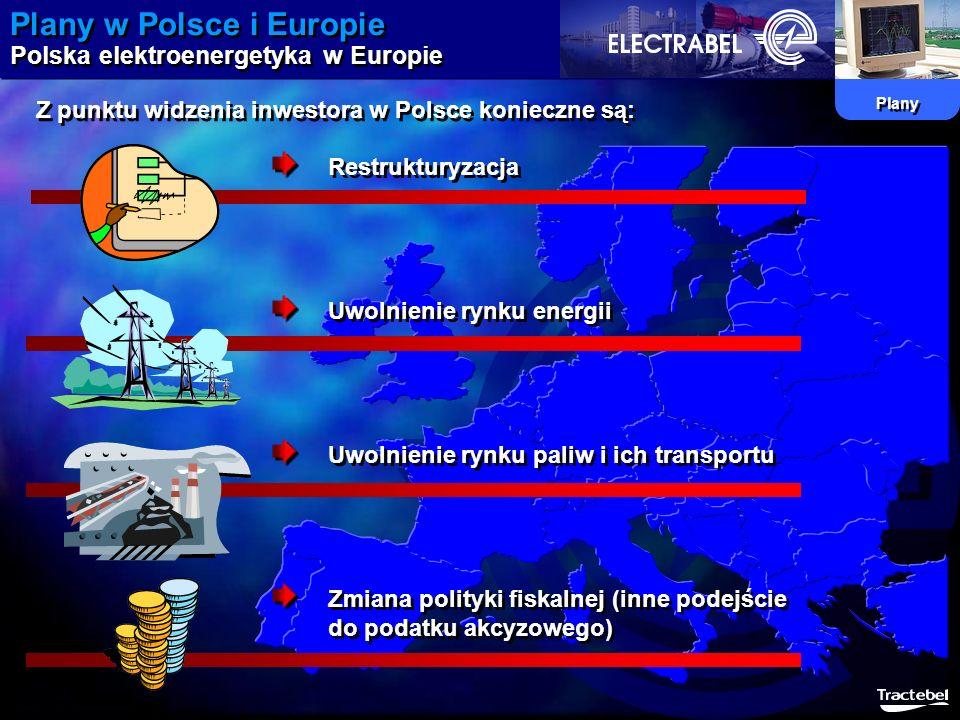 Plany w Polsce i Europie Polska elektroenergetyka w Europie