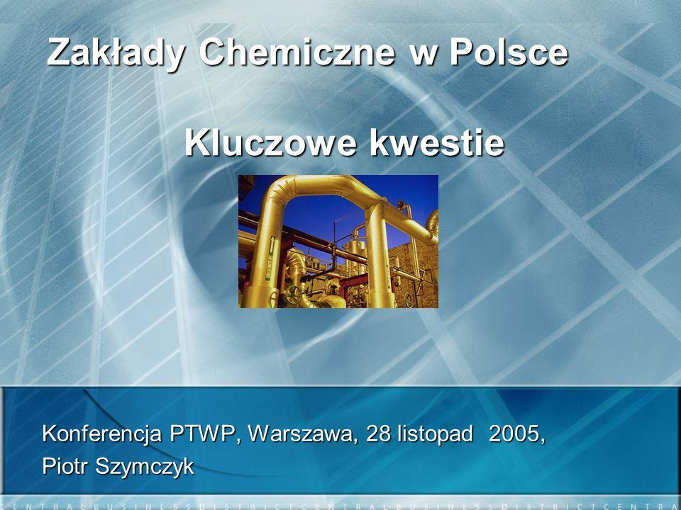 Zakłady Chemiczne w Polsce Kluczowe kwestie