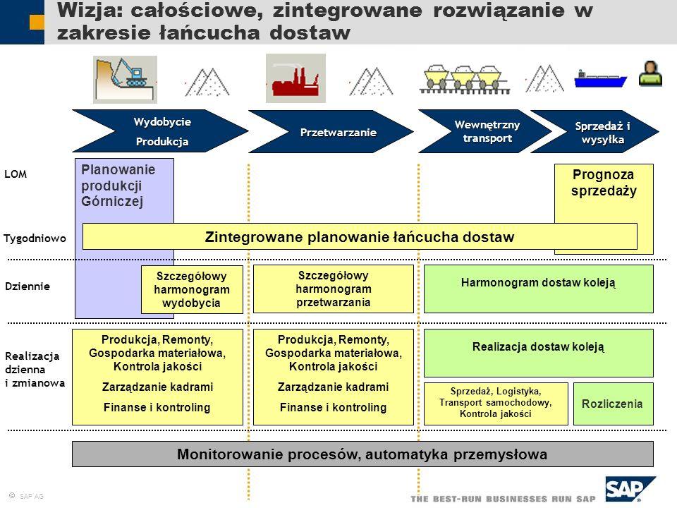 Wizja: całościowe, zintegrowane rozwiązanie w zakresie łańcucha dostaw