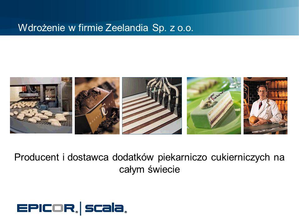 Wdrożenie w firmie Zeelandia Sp. z o.o.