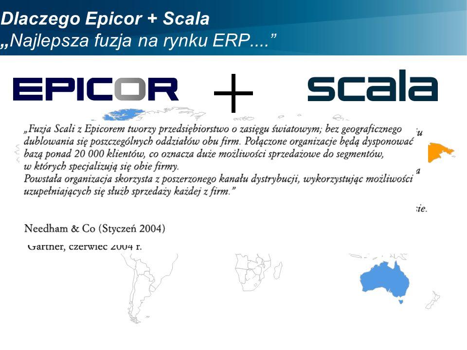 """Dlaczego Epicor + Scala """"Najlepsza fuzja na rynku ERP...."""