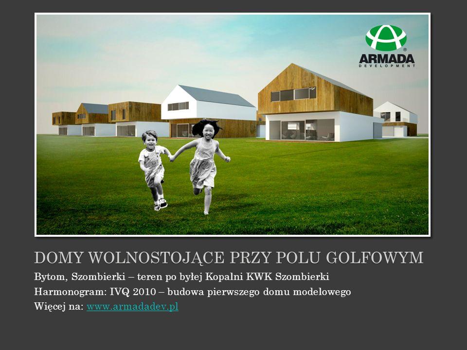 Domy wolnostojące przy polu golfowym