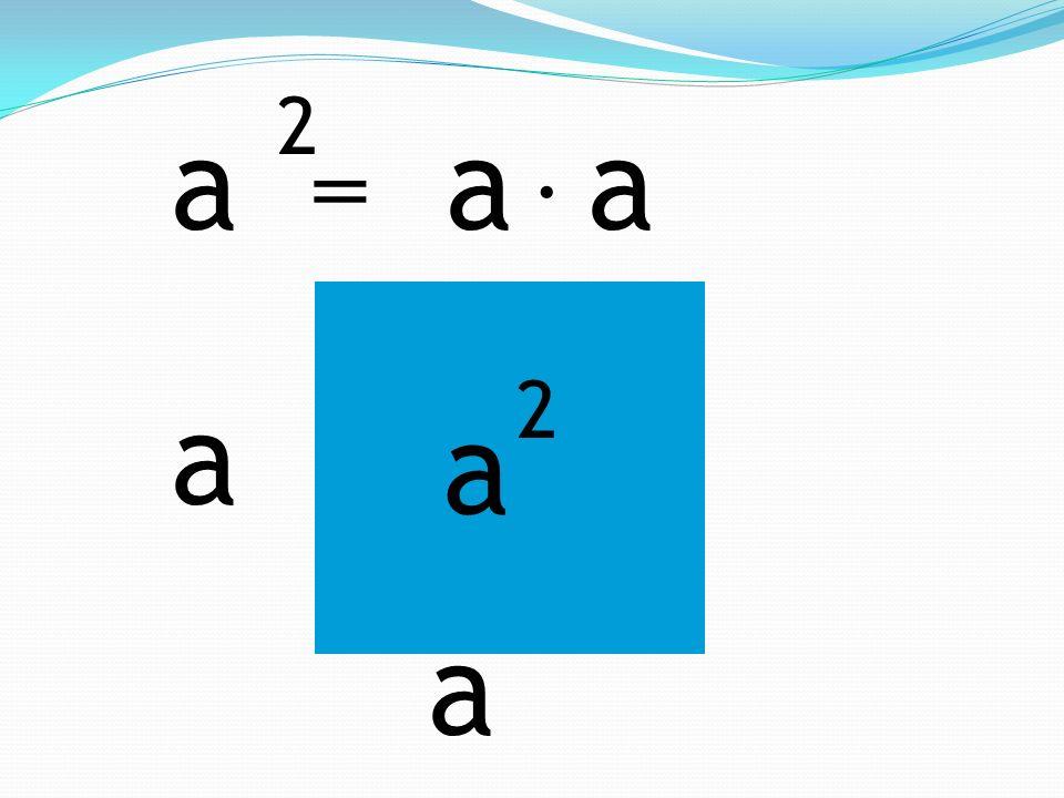 a 2 a a = . a 2 a a
