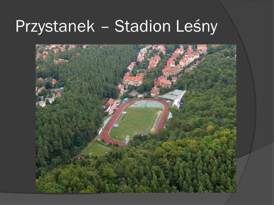 Przystanek – Stadion Leśny