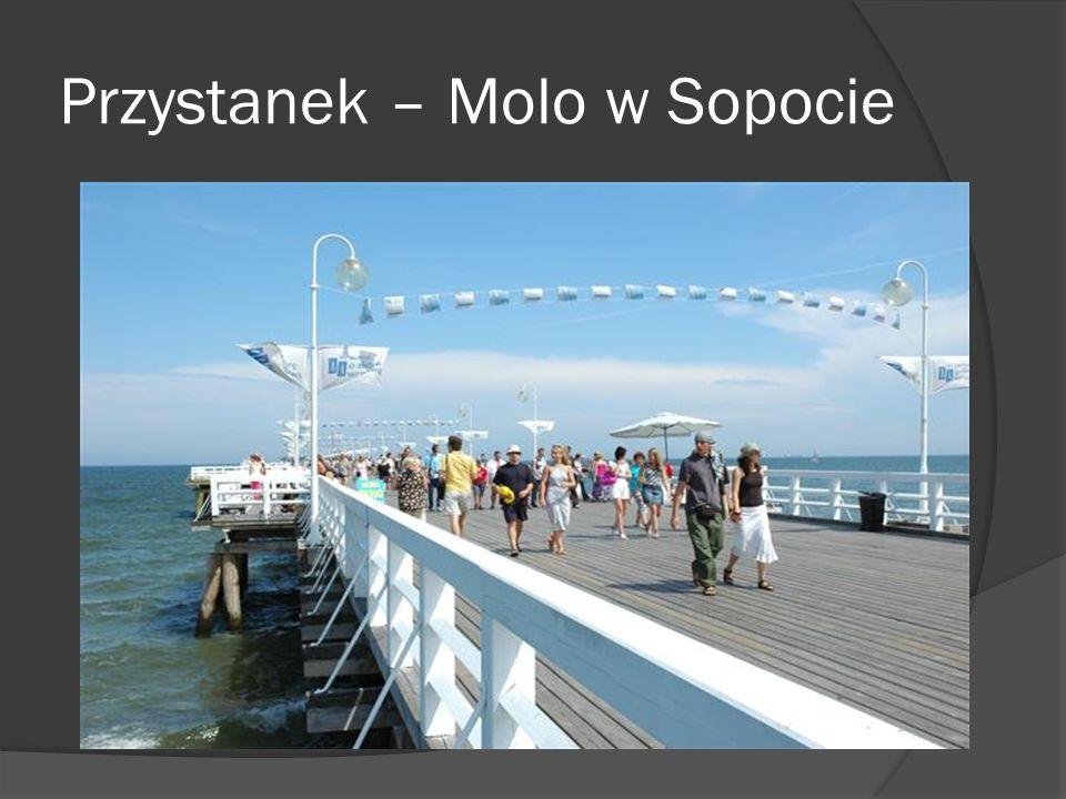 Przystanek – Molo w Sopocie