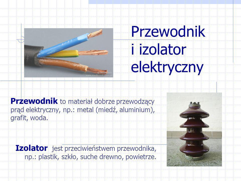 Przewodnik i izolator elektryczny