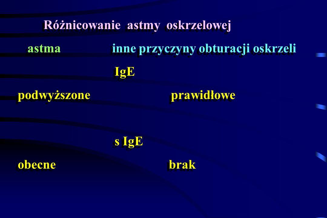 Różnicowanie astmy oskrzelowej
