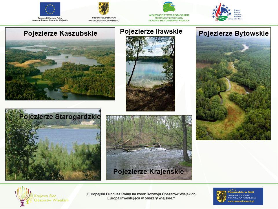 Pojezierze IławskiePojezierze Kaszubskie.Pojezierze Bytowskie.
