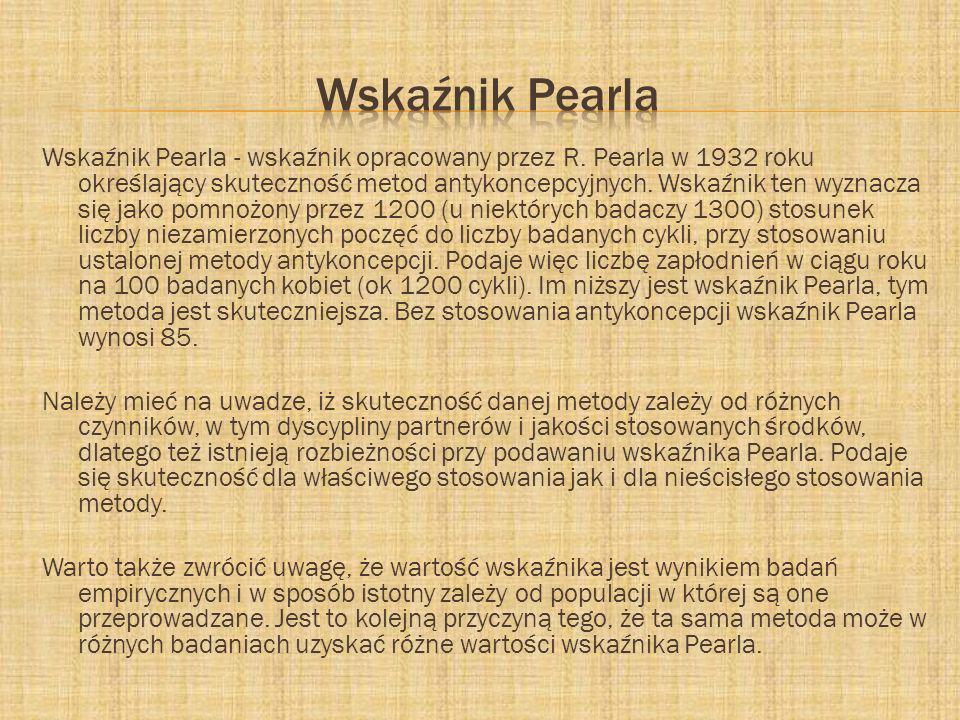 Wskaźnik Pearla