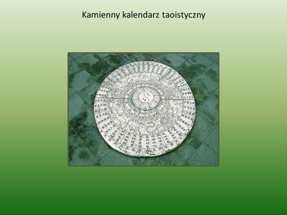 Kamienny kalendarz taoistyczny
