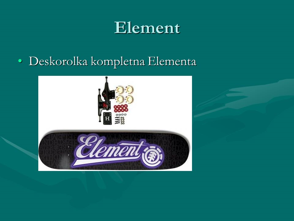 Element Deskorolka kompletna Elementa