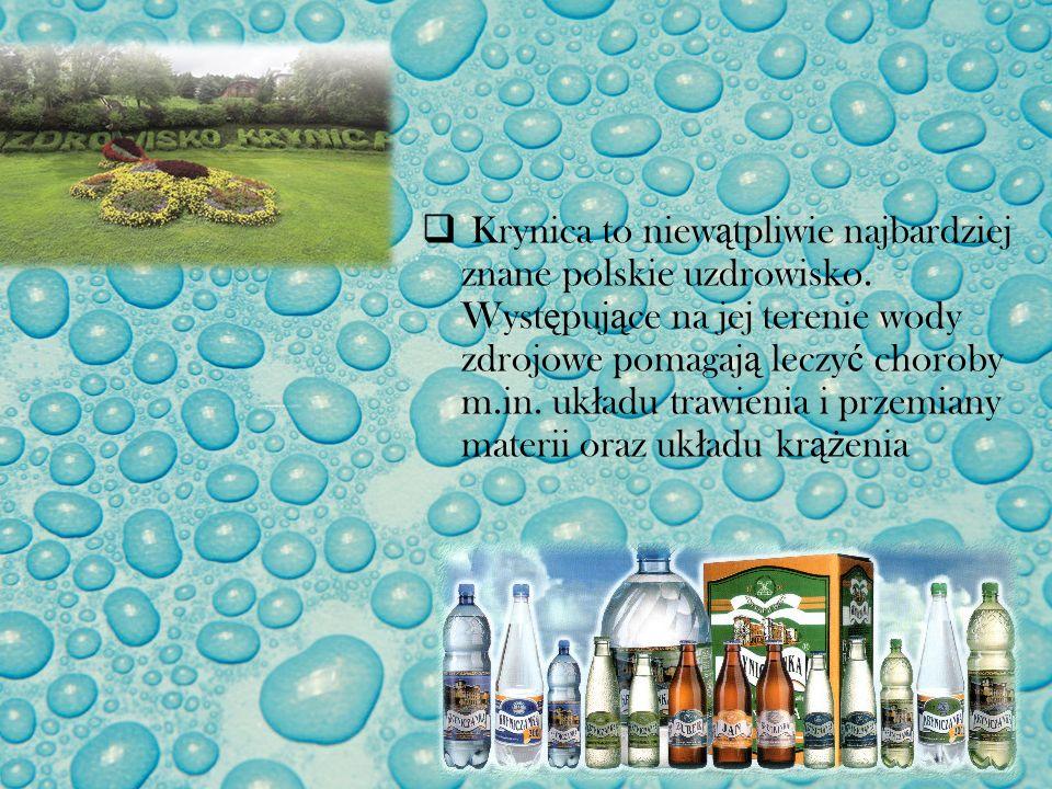 Krynica to niewątpliwie najbardziej znane polskie uzdrowisko