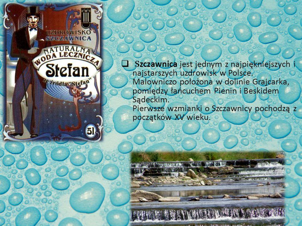 Szczawnica jest jednym z najpiękniejszych i najstarszych uzdrowisk w Polsce.