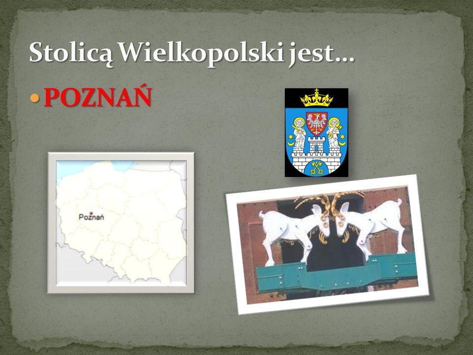 Stolicą Wielkopolski jest…
