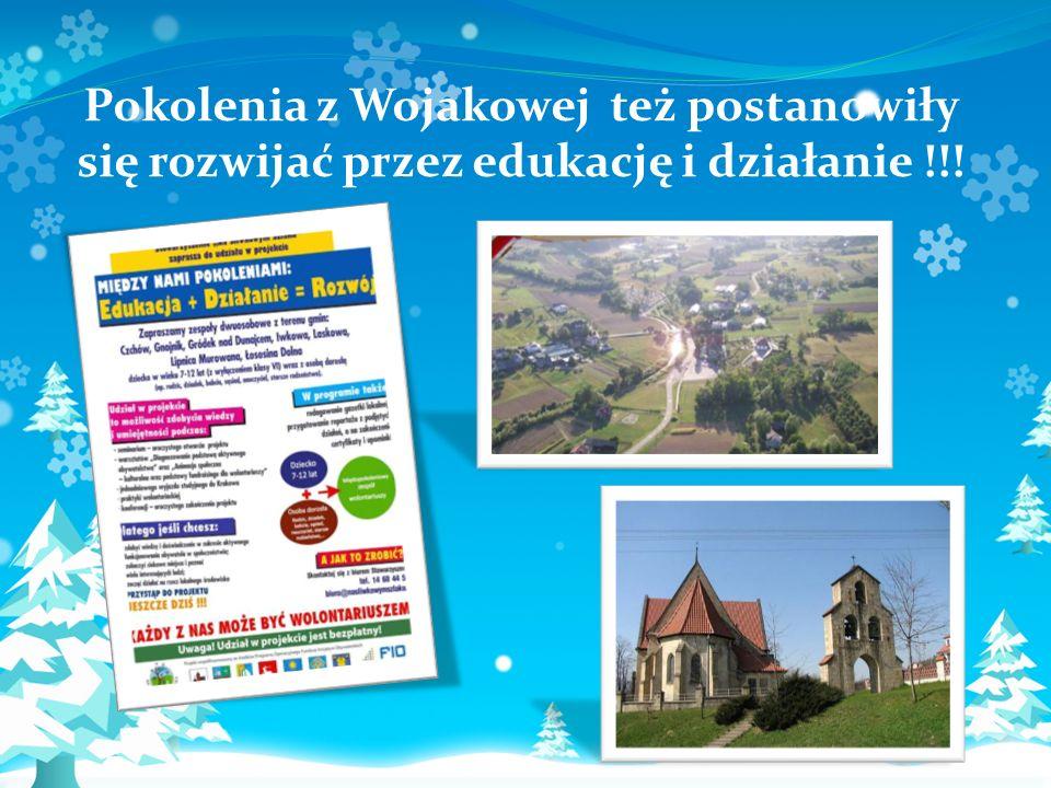 Pokolenia z Wojakowej też postanowiły się rozwijać przez edukację i działanie !!!