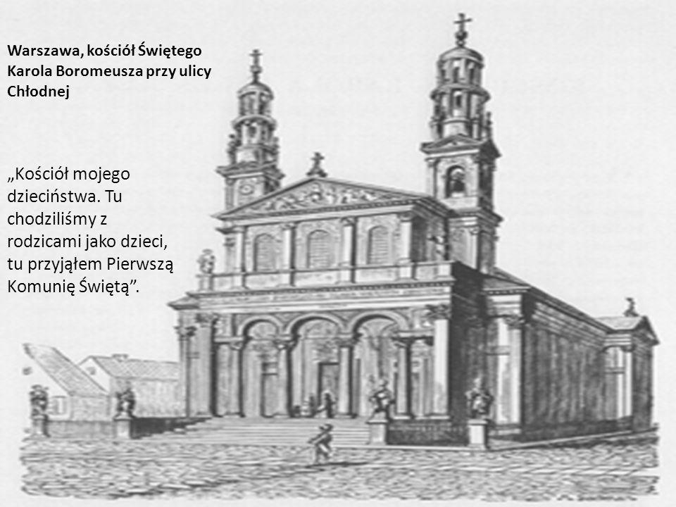 Warszawa, kościół Świętego Karola Boromeusza przy ulicy Chłodnej