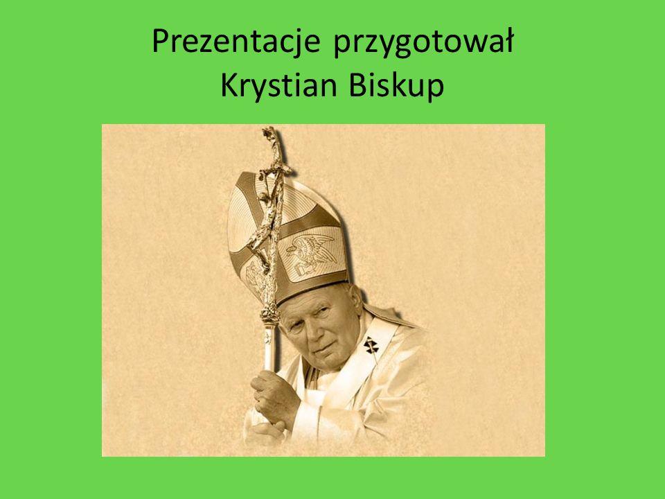 Prezentacje przygotował Krystian Biskup