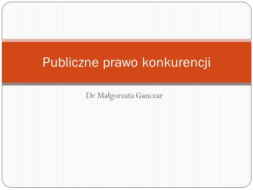 Publiczne prawo konkurencji
