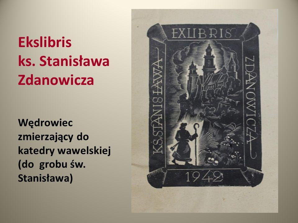 Ekslibris ks. Stanisława Zdanowicza