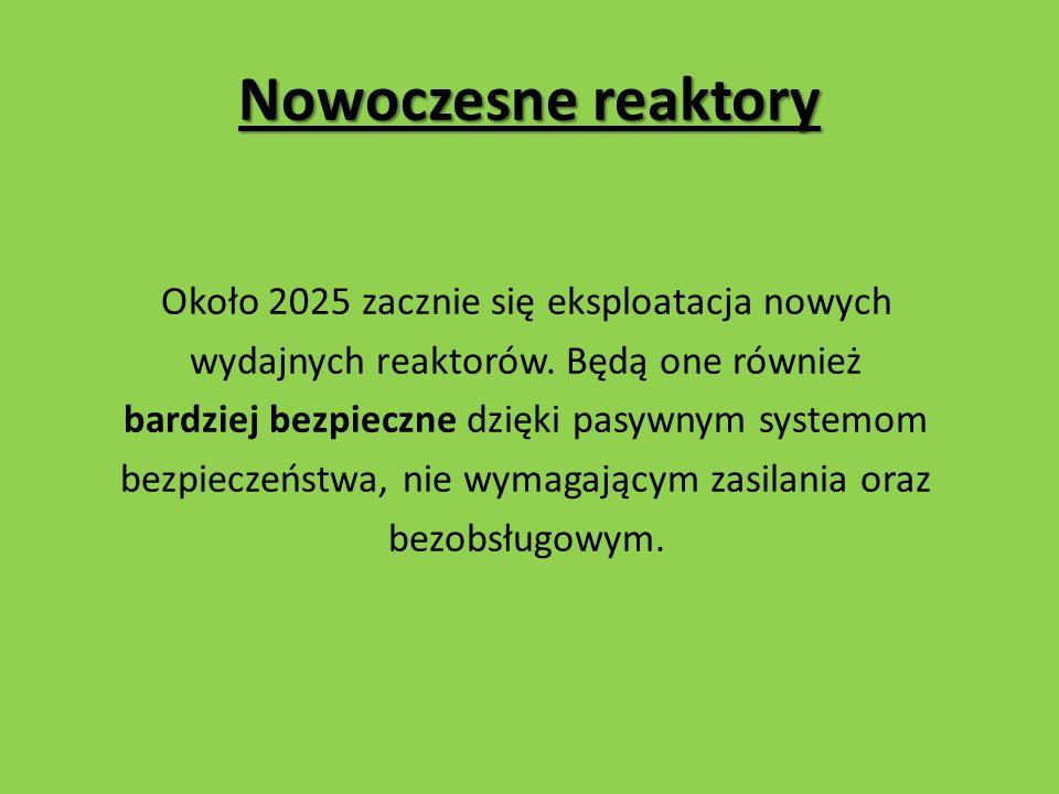 Nowoczesne reaktory