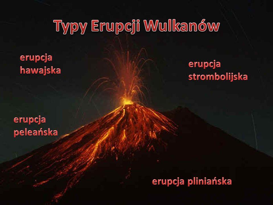 Typy Erupcji Wulkanów erupcja hawajska erupcja strombolijska
