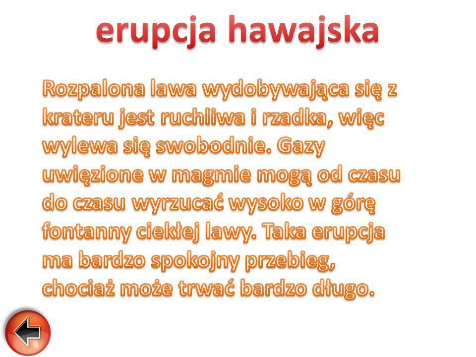 erupcja hawajska
