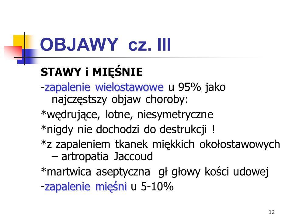 OBJAWY cz. III STAWY i MIĘŚNIE