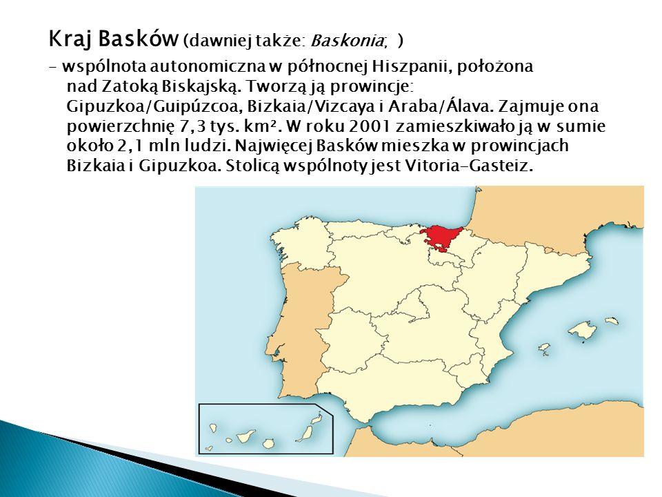 Kraj Basków (dawniej także: Baskonia; )