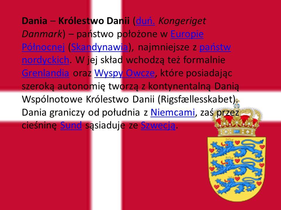 Dania – Królestwo Danii (duń