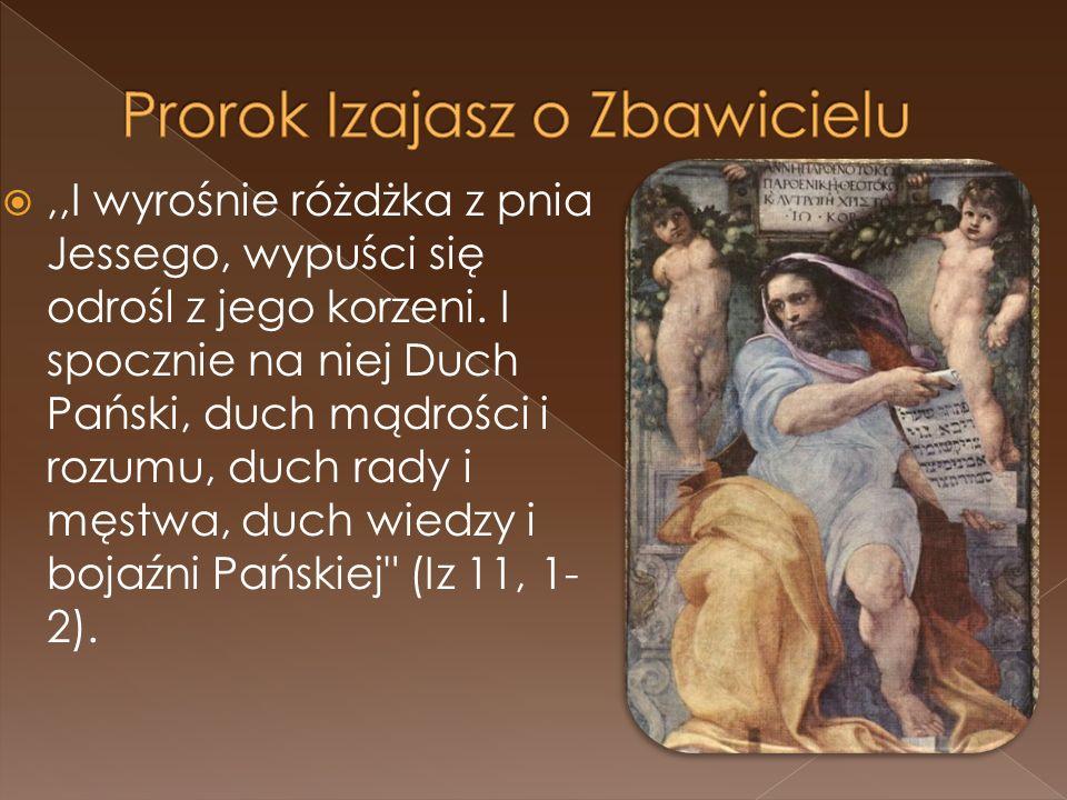 Prorok Izajasz o Zbawicielu