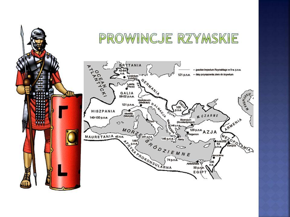 Prowincje rzymskie